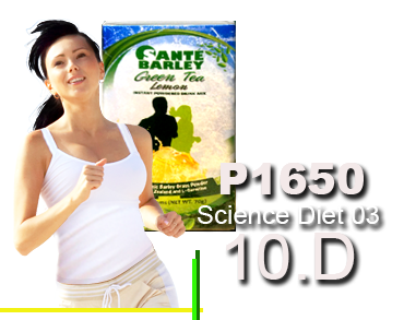 Science Diet 102 With Sante Barley Weight Loss